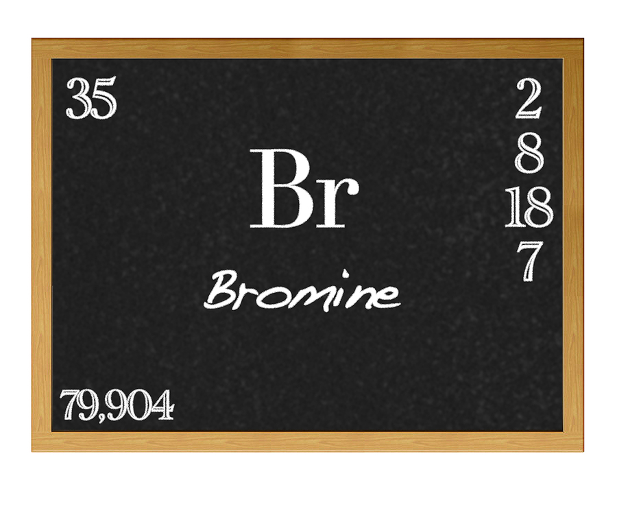 Bromine is a chemical occasionally used in swimming pools that can cause negative health effects.