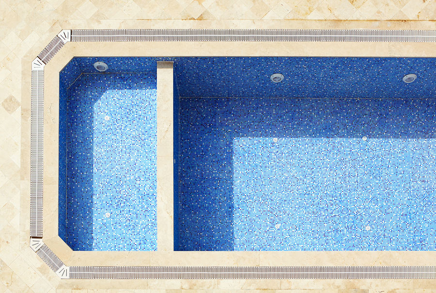 Swimming pool finishes have upgraded to different shades, textures and styles.